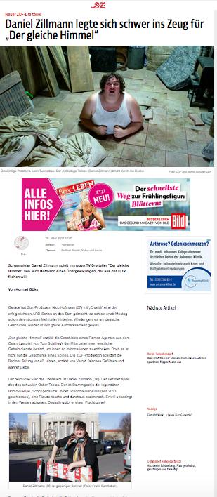 Daniel Zillmann @ BZ.de