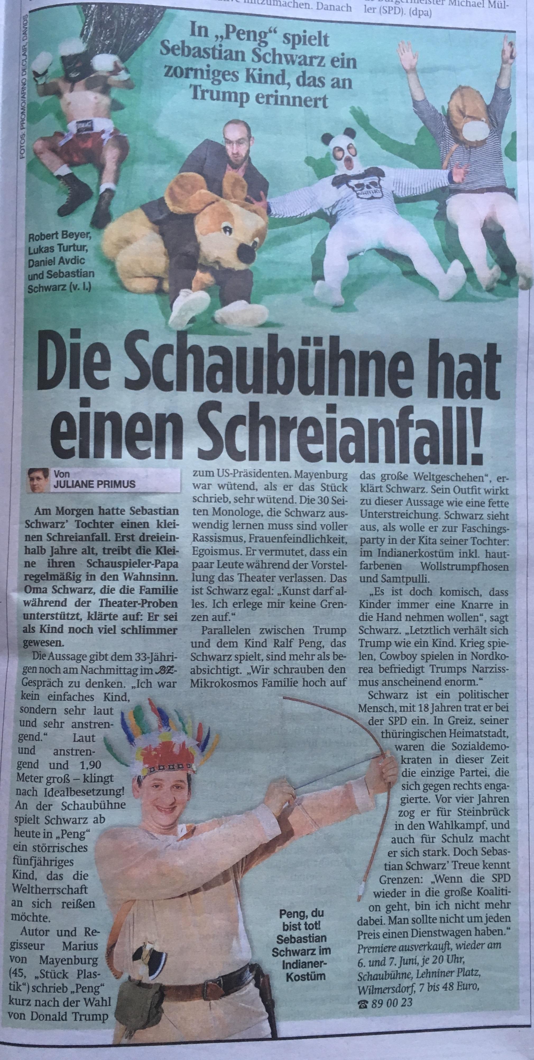 Sebastian Schwarz @ BZ