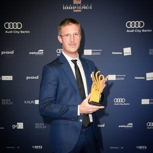 Golo Euler wins German Drama Prize!