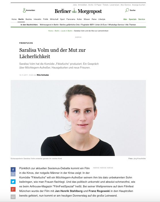 Saralisa Volm @ Berliner MOPO