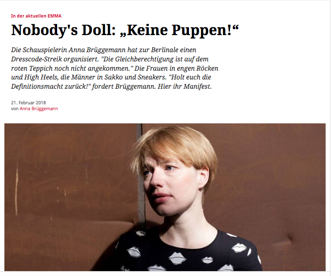 Anna Brüggemann @Emma