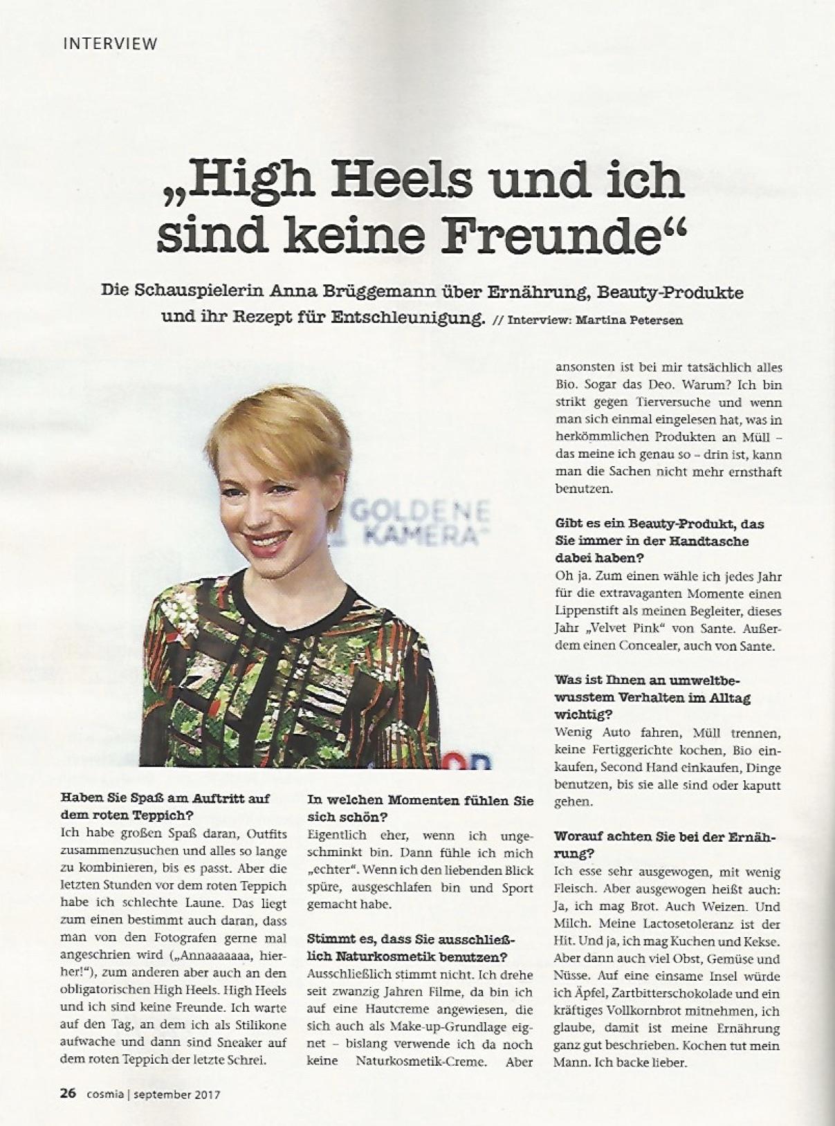 Anna Brüggemann @ Cosmia