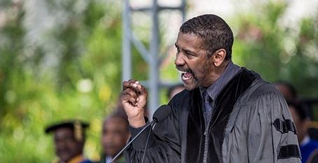 Écoutez ce discours de Denzel WASHINGTON à des étudiants d'université...