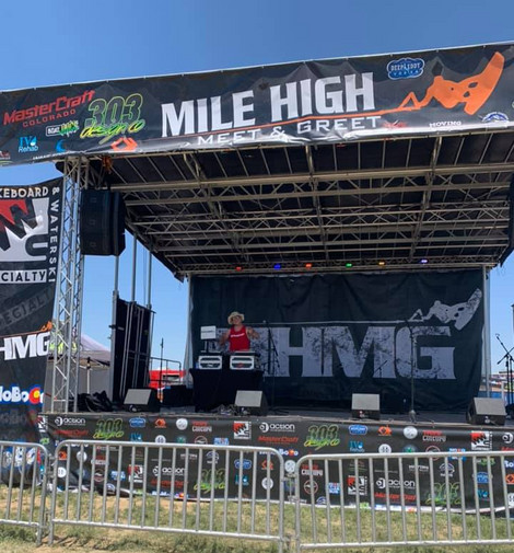 Soundcheck at Mile High Meet & Greet