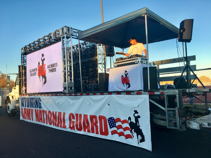 Wyoming National Guard Tailgate