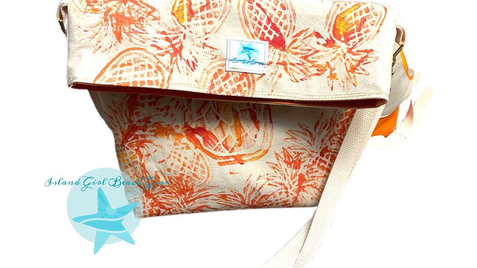 Crossbody canvas bag