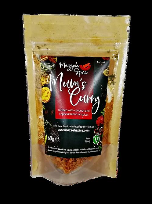 Mum's Parsi Curry (serves 4)