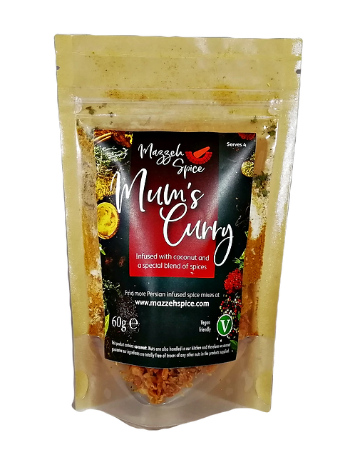 Mum's Curry (serves 4)