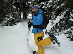 Snow Shoewing | Doug Fletcher
