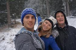 Doug, Amy and Alan Fletcher