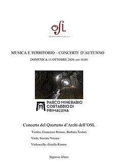 Concerto quartetto osl Cortabbio 11-10-2
