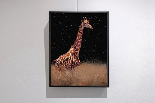 The gentle giraffe. He doesn't talk much but he makes me laugh.