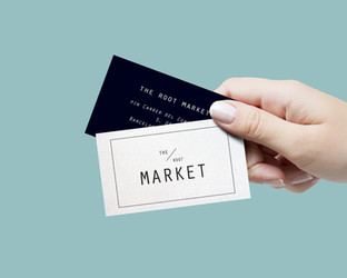 The Root Market Business Card