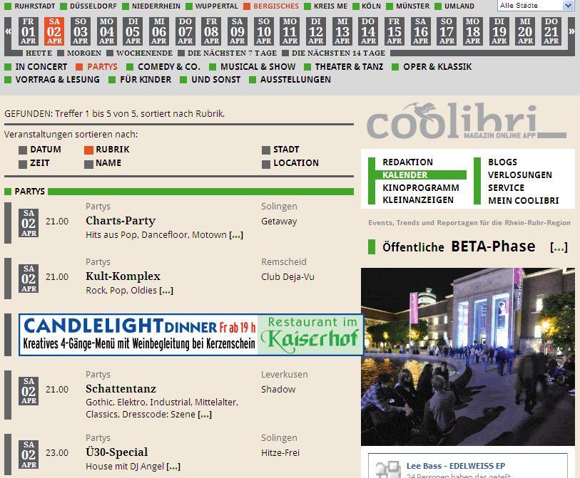 Articolo Coolibri Online 4.2011
