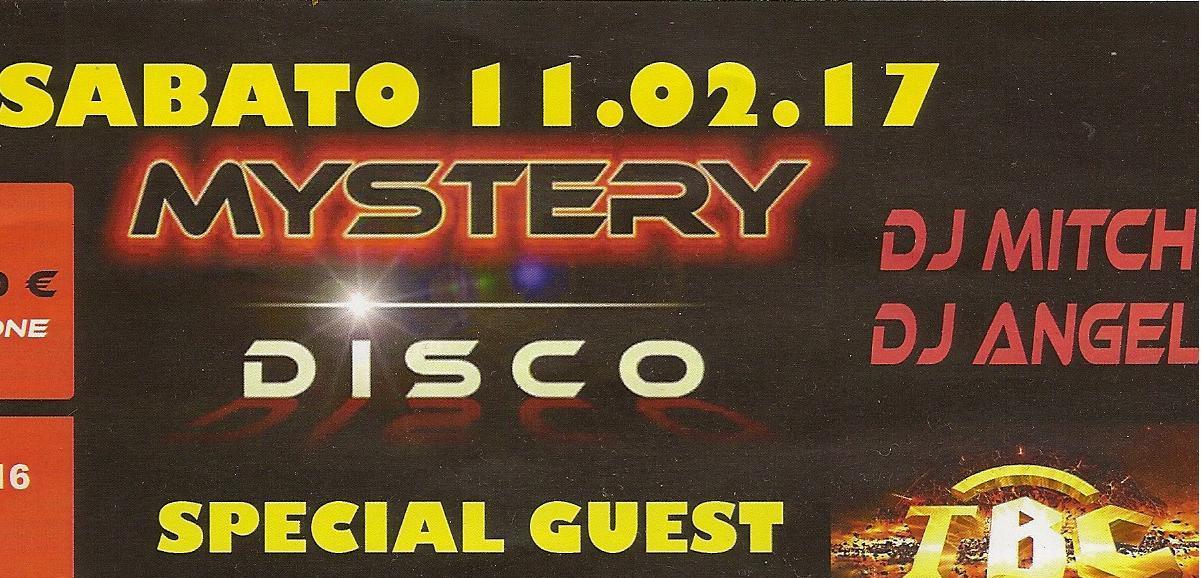 Mystery disco 11.02.17