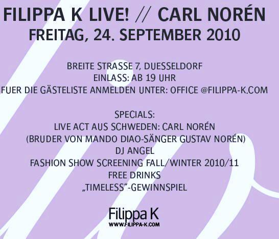 Fashion Show Filippa K