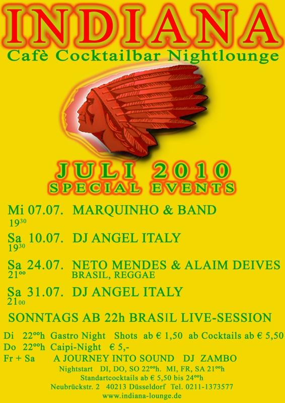 Indiana - program July 2010