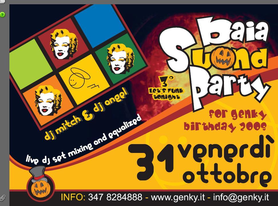 Baia sound party