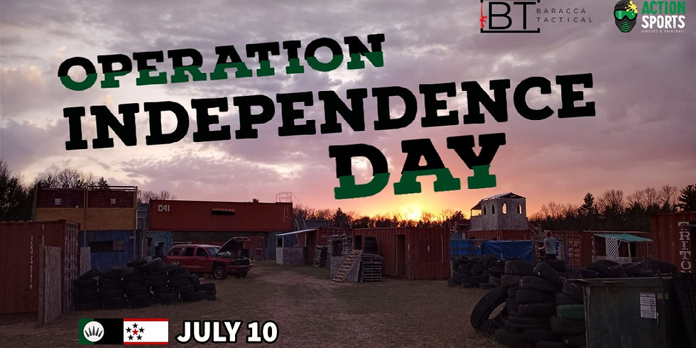 Operation Independece Day (A Baracca Tactical Airsoft Event)