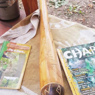 Bate en bois