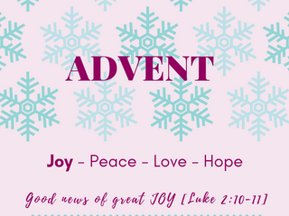 Advent series - Joy