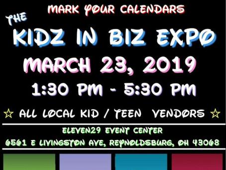 Next Stop? The KIDZ IN BIZ EXPO