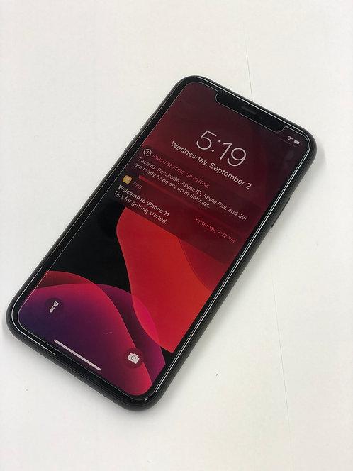 "Apple iPhone 11 DUAL SIM Card -  64 GB  Storage - 6.1"" Screen"