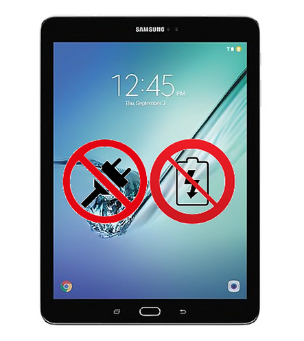 Dead/No Power Samsung Tab When brought to us