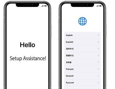 Apple iPhone Setup Service