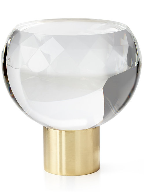 Manhattan Faceted Finial