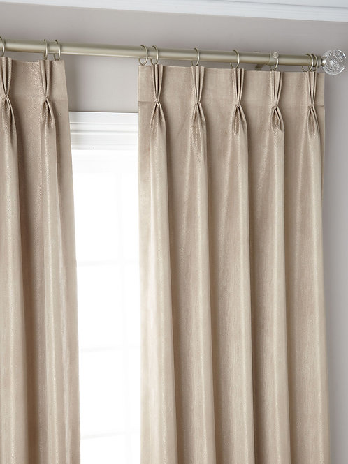 Taupe Shimmer Panel