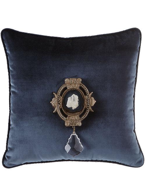 Joule Paris Quartz Navy Pillow