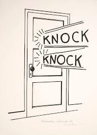 KNOCK KNOCK.....