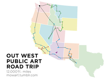 Road Trips, Public Art, and Storytelling
