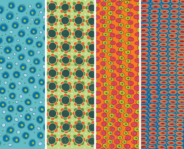 Hand-drawn patterns