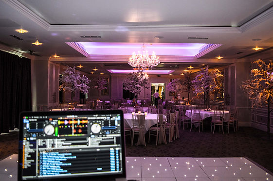 DJ at Rockcliffe Hall