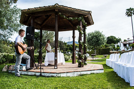 Wedding Ceremony Singer South of Spain