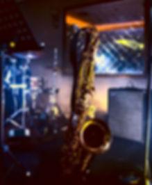 Saxophonist Ramside Hall