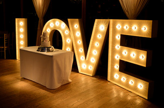 Love Sign Newton Hall