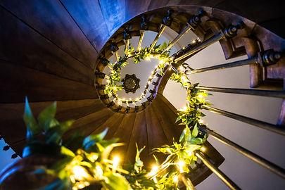 Chateau De Brives Staircase