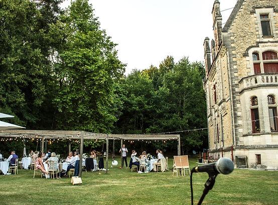 Chateau La Thuiliere Wedding Breakfast