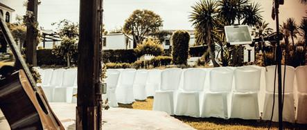 Ceremony setup Destination Wedding