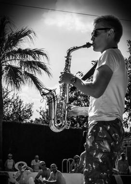Ibiza Saxophone Destination Wedding