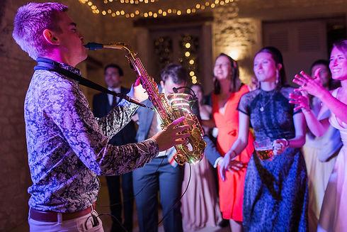 Destination Wedding Saxophonist