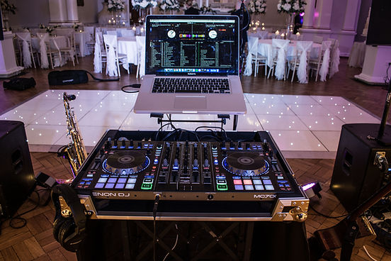 Live SAX and DJ at Beamish Hall