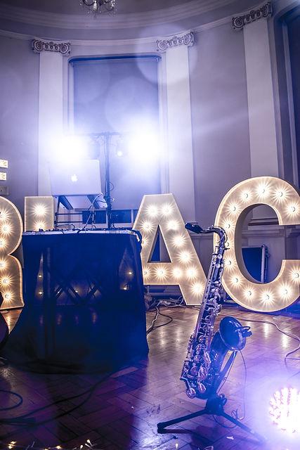 Sax DJ Beamish Hall