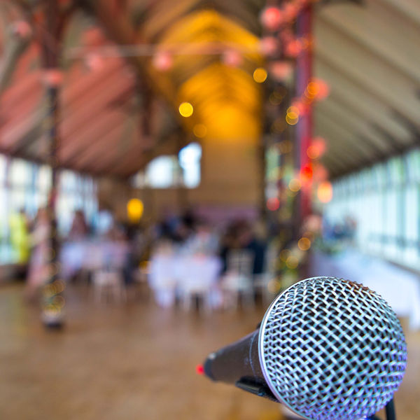 Wedding Singer Hexham Winter Gardens