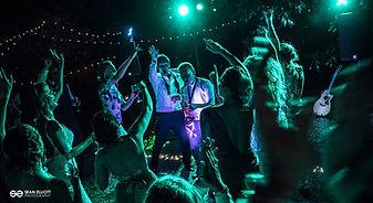 Light Up Saxophonist Destination Wedding