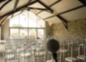 Wedding Singer Yorkshire Barn