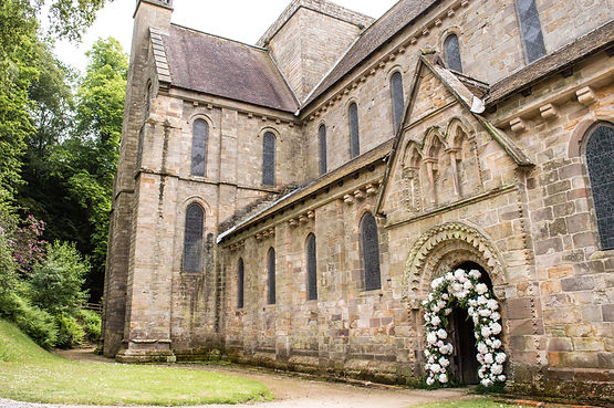 Brinkburn Priory Outside